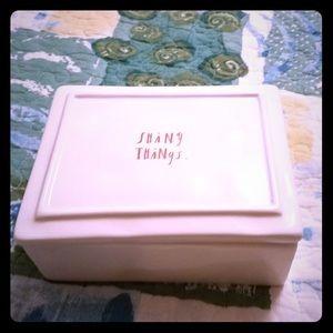 Rae Dunn shiny things box